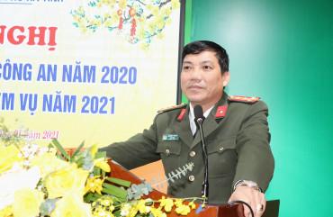 Công an Thành phố Hà Tĩnh triển khai công tác năm 2021