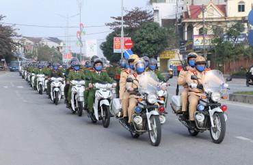 Lực lượng Công an toàn tỉnh: Đảm bảo ANTT Đại hội Đảng toàn quốc lần thứ XIII