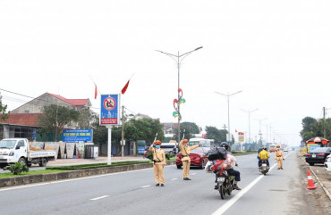 Trong ngày đầu tiên nghỉ tết Nguyên đán Tân Sửu, Hà Tĩnh không xảy ra vụ TNGT nghiêm trọng.