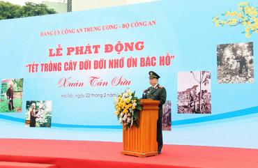 """Bộ trưởng Tô Lâm phát động """"Tết trồng cây đời đời nhớ ơn Bác Hồ"""""""