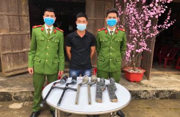 Phòng Cảnh sát Thi hành án hình sự & HTTP: Tăng cường vận động, thu hồi pháo, vũ khí, vật liệu nổ, công cụ hỗ trợ