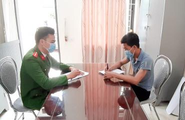 Công an xã biên giới Sơn Hồng, Hương Sơn, Hà Tĩnh: Kiểm điểm trước dân người dùng dao chém bị thương bò, bê