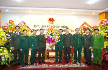 Lãnh đạo Công an tỉnh chúc mừng Ngày truyền thống lực lượng Biên phòng