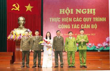Công bố quyết định nghỉ chờ hưu đối với đồng chí Đại tá Võ Trọng Hùng