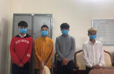 Bắt nhóm thiếu niên trộm tiền công đức trên địa bàn Hà Tĩnh