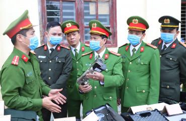 Phòng Cảnh sát cơ động ra quân huấn luyện năm 2021