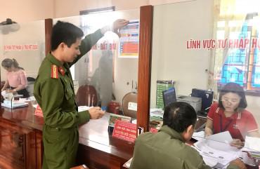 Công an Can Lộc tăng cường công tác phòng, chống tội phạm lừa đảo
