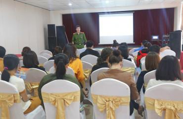 Huấn luyện nghiệp vụ PCCC cho cán bộ, công nhân viên tại khách sạn Ngân Hà