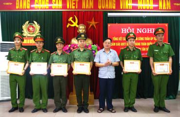 Công an Can Lộc đấu tranh có hiệu quả với các loại tội phạm