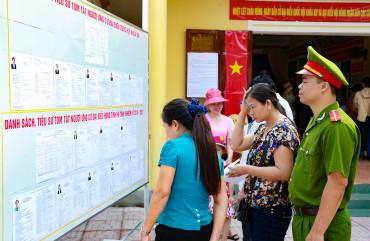 Hà Tĩnh thành lập 1.444 tổ bầu cử ĐBQH và HĐND các cấp