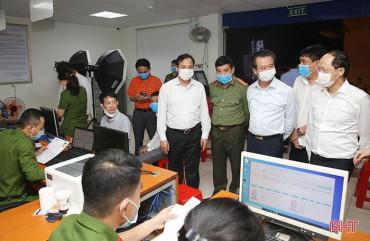 Ban Thường vụ Tỉnh ủy Hà Tĩnh: Tăng cường chỉ đạo xây dựng cơ sở dữ liệu quốc gia, cấp căn cước công dân