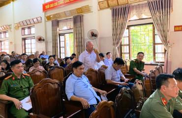 """Công an TP Hà Tĩnh tổ chức diễn đàn """"Công an lắng nghe ý kiến Nhân dân"""""""