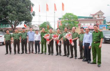Thứ trưởng Nguyễn Văn Thành làm việc tại Công an tỉnh Nghệ An và Hà Tĩnh