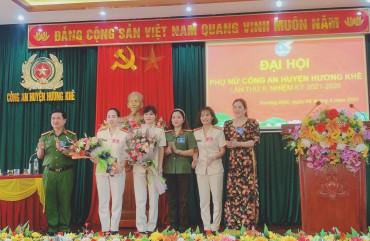 """Hội phụ nữ Công an Hương Khê đoàn kết, sáng tạo """" Vì an ninh Tổ quốc"""""""