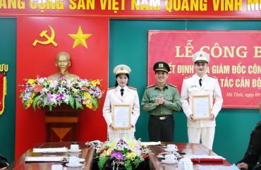 Lực lượng Tham mưu phấn đấu trở thành các Trung tâm của Công an Hà Tĩnh