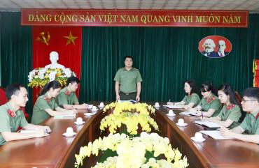 Tài chính Công an Hà Tĩnh phục vụ hiệu quả công tác, chiến đấu thường xuyên và đột xuất