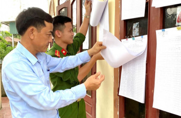Đảm bảo an ninh trật tự bầu cử Đại biểu  Quốc hội, Hội đồng nhân dân các cấp