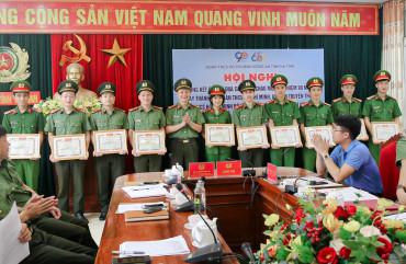 Tổng kết đợt thi đua cao điểm chào mừng kỷ niệm 90 năm ngày thành lập đoàn TNCS Hồ Chí Minh