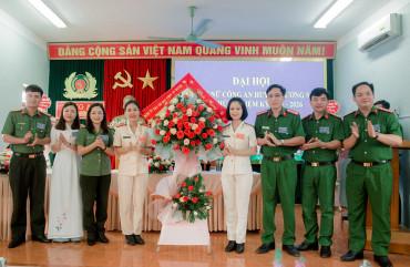 Hội phụ nữ Công an huyện Hương Sơn tổ chức thành công Đại hội nhiệm kỳ 2021 - 2026