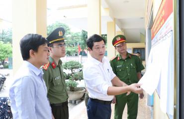 Công an Hà Tĩnh chuẩn bị sẵn sàng cho cuộc bầu cử