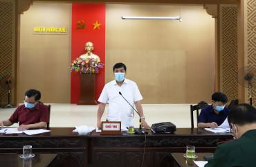 Hương Khê cần chủ động nắm chắc tình hình, đảm bảo ANTT phục vụ tốt công tác bầu cử