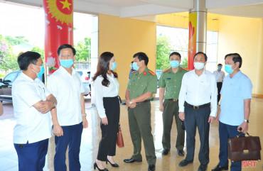 12 ứng cử viên đại biểu Quốc hội, HĐND Hà Tĩnh tiếp xúc cử tri tại Hương Khê