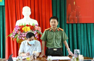 Tăng cường công tác bảo đảm ANTT bầu cử tại huyện Lộc Hà