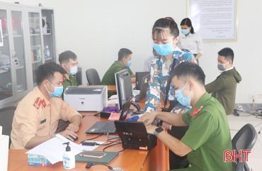 Hà Tĩnh phấn đấu đến hết tháng 5 hoàn thành thu nhận hồ sơ cấp căn cước công dân