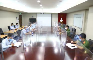 Tăng cường công tác phòng chống dịch Covid – 19 tại Công ty gang thép hưng nghiệp Fomosa