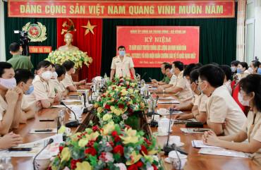 Công an Hà Tĩnh: Kỷ niệm 75 năm Ngày truyền thống lực lượng An ninh nhân dân