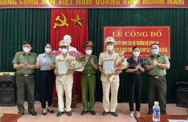 Bố trí tổ chức Công an chính quy tại thị trấn Thạch Hà