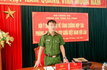 Tăng cường hợp tác phòng, chống ma túy giữa Việt Nam với Lào