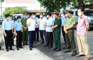 Hương Sơn, Đức Thọ triển khai đồng bộ các giải pháp phòng, chống dịch COVID-19