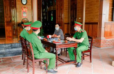 Hiệu quả Công an chính quy về xã trên địa bàn huyện Can Lộc