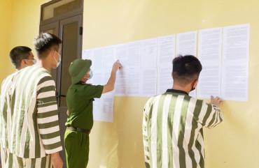 Công an Hà Tĩnh hoàn tất công tác chuẩn bị đặc xá năm 2021