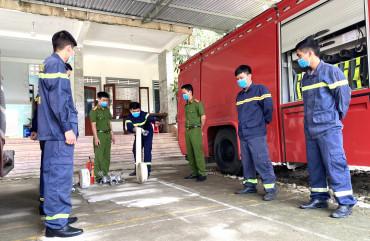 Đội Cảnh sát PCCC và CNCH Công an Hương Sơn: Sẵn sàng trên trận tuyến chống giặc lửa