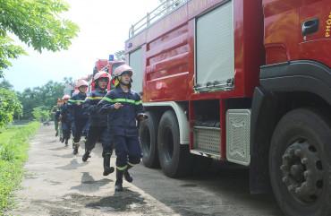 Đội Cảnh sát PCCC và CNCH khu vực Vũng Áng: Bảo đảm an toàn PCCC trên địa bàn
