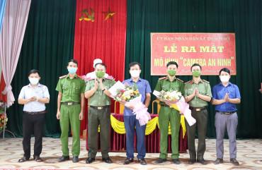 """Ra mắt mô hình """"Camera an ninh"""" xã Thạch Mỹ, Huyện Lộc Hà"""