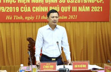 Giao ban lực lượng Công an - Quân sự - Biên phòng tỉnh Hà Tĩnh quý III/2021