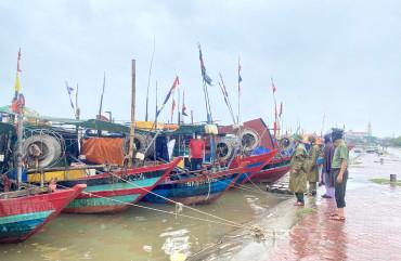 Công an Hà Tĩnh chủ động ứng phó với mưa lũ trên địa bàn