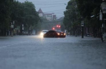 Mưa lớn kéo dài các địa phương ở Hà Tĩnh bị ảnh hưởng trên diện rộng